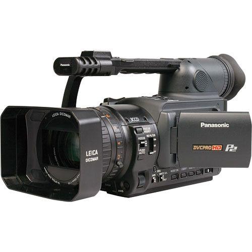 Panasonic hvx200 dvcpro hd p2 camcorder used [ag-hvx200].