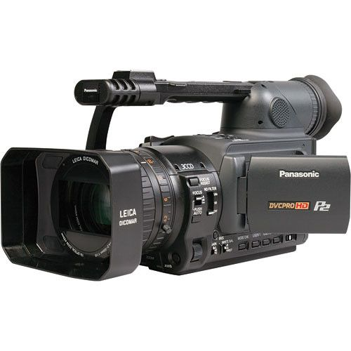 Panasonic ag-hvx200 p2 dvcpro hd professional camcorder -369hours.
