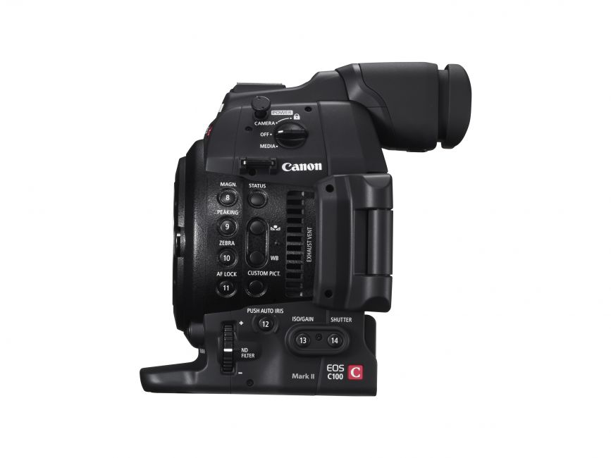 Canon EOS C100 Mark II Digital Cinema Camera