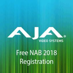 See AJA at NAB 2018