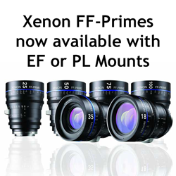 Xenon-FF Lenses in EF or PL Mount
