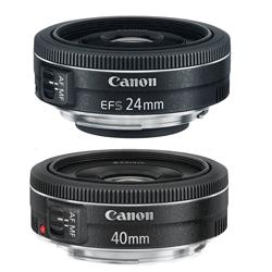 Canon Pancake Prime Lenses