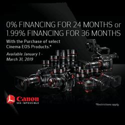 Canon Cinema EOS Offers